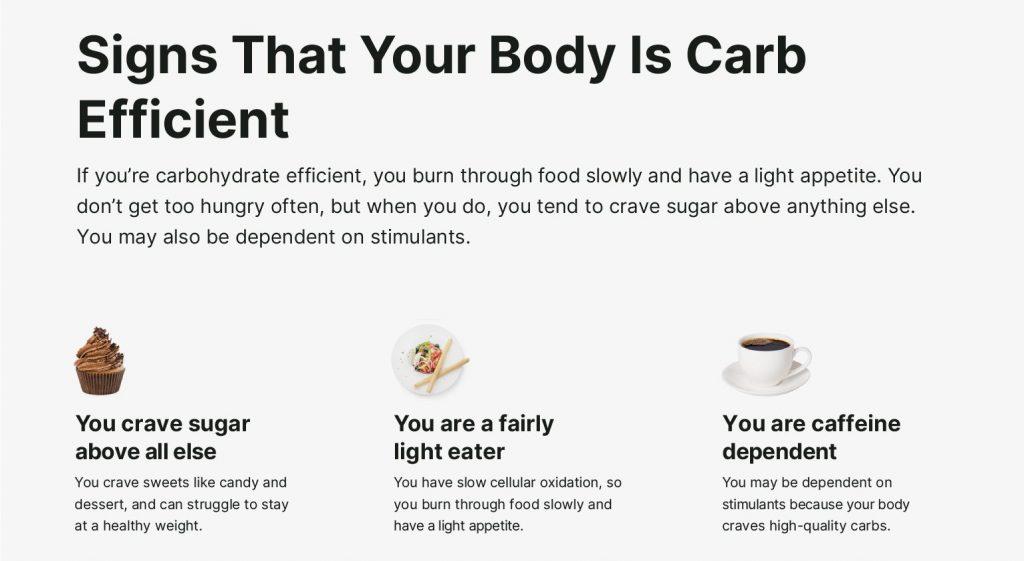 Body-Carb-Efficient