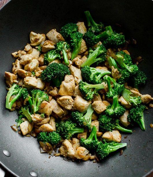 Healthy Chicken Breast And Broccoli Stir Fry Recipe