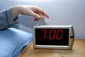 Sleeping alarm